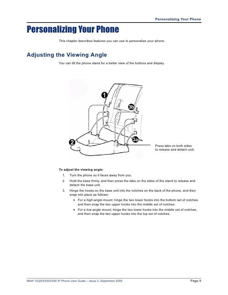 mitel 5340 ip phone manual