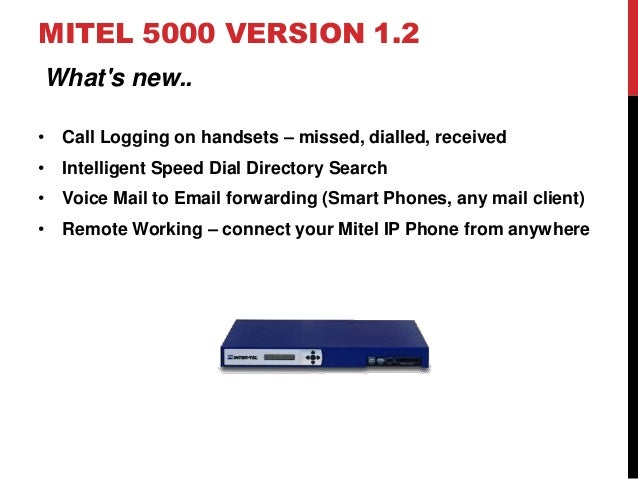 Mitel Phone System Versions And How To Upgrade