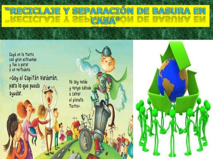 Reciclaje y separaci n de basura en casa - Como reciclar correctamente ...