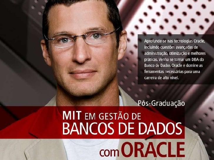 Mit em Gestão de Bancos de Dados com Oracle