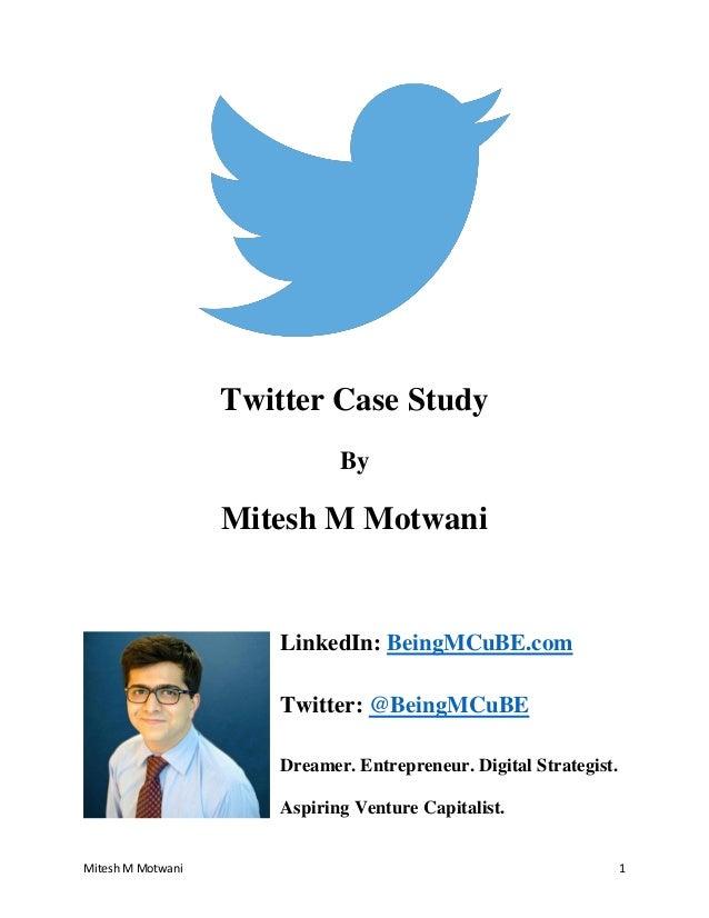 twitter case analysis