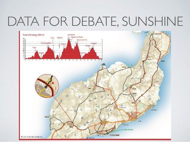 DATA FOR DEBATE, SUNSHINE