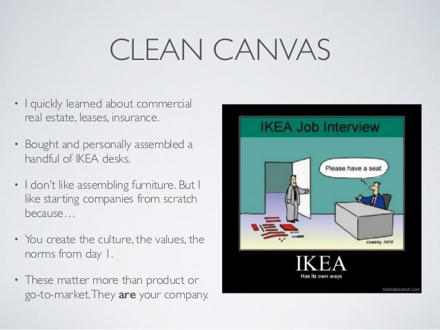 CLEAN CANVAS • I quickly learned about commercial real estate, leases, insurance. • Bought and personally assembled a hand...
