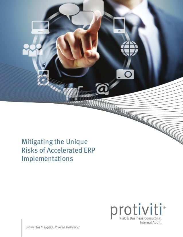 Mitigating the Unique Risks of Accelerated ERP Implementations