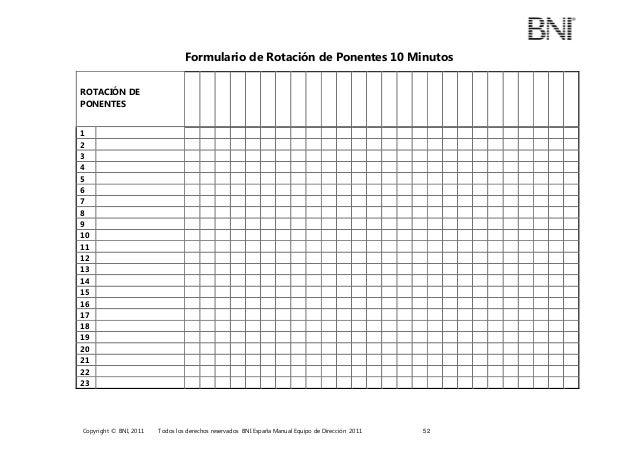 3 formulario de rotacion de ponentes presentacion 10 minutos