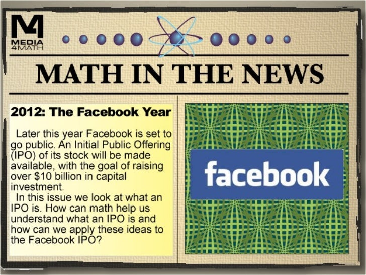 Math in the News: 1/5/12 Slide 1