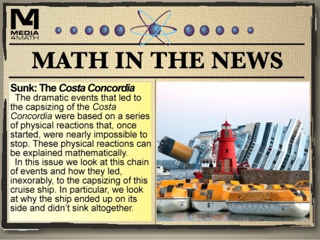 The Sinking of the Costa Concordia Click on the video link to learn more about the sinking of the Costa Concordia. https:/...