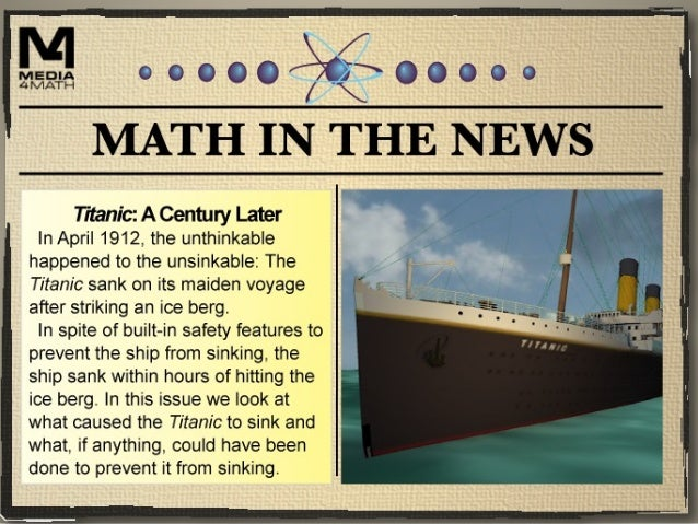 Why the Titanic Sank The Titanic was a British ship that set sail on April 10, 1912. It made two stops before heading towa...