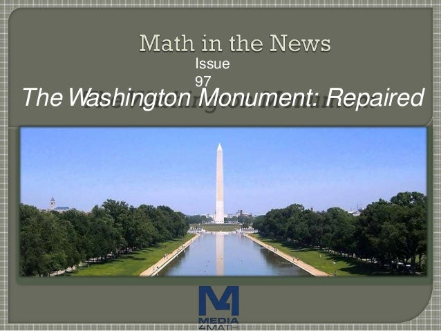Issue 97 The Washington Monument: Repaired