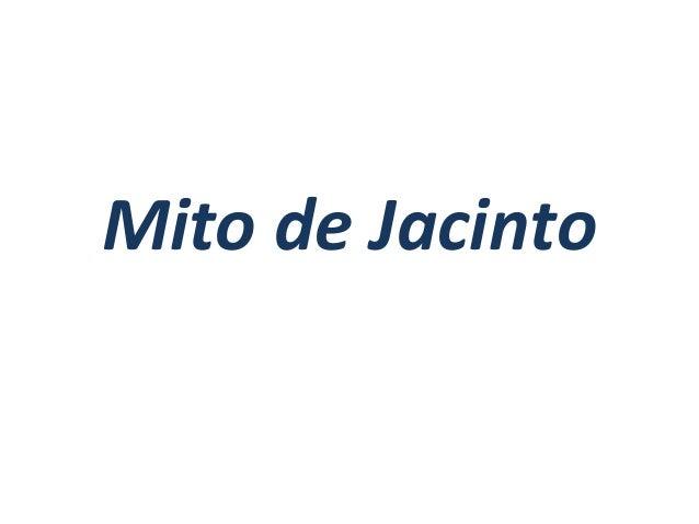 Mito de Jacinto