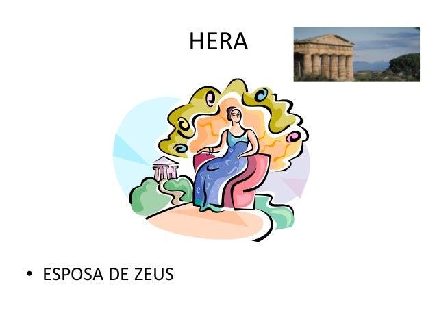 HERA• ESPOSA DE ZEUS