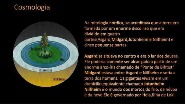 Mitologia Nórdica - Prof.Altair Aguilar. Slide 3