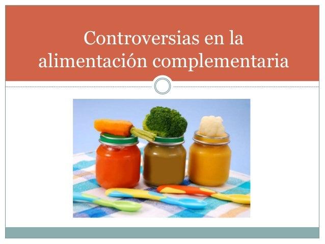 mitos sobre la alimentacion complementaria