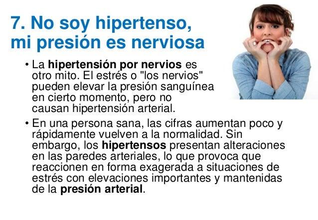 Mitos sobre hipertensión arterial