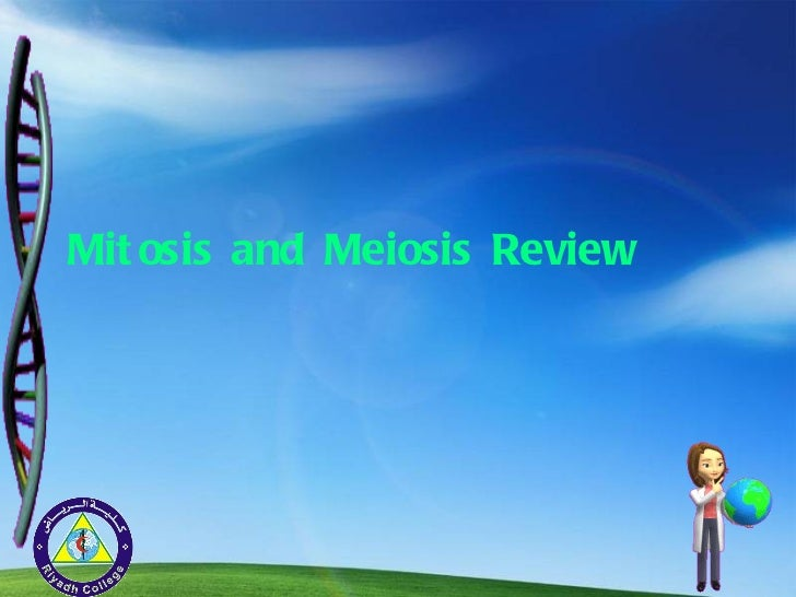 Mitosis and Meiosis Review