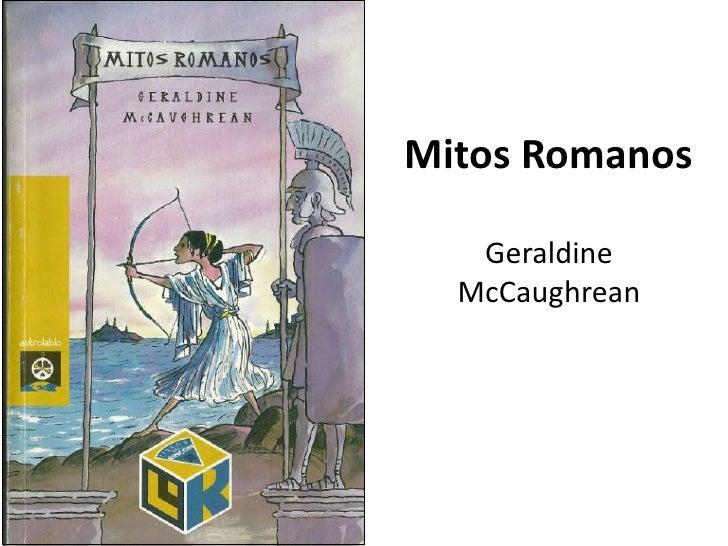 Mitos RomanosGeraldine McCaughrean<br />