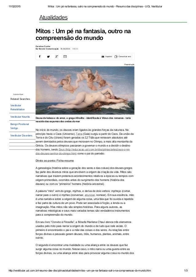 11/02/2015 Mitos:Umpénafantasia,outronacompreensãodomundoResumodasdisciplinasUOLVestibular http://vesti...