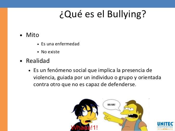 Mitos y realidades sobre el bullying - El bulin de horcajuelo ...