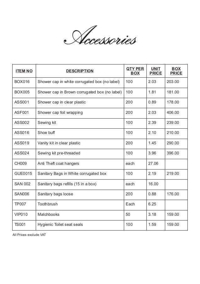 mitras amenities price list 2013 rh slideshare net School Syllabus Syllabus Examples