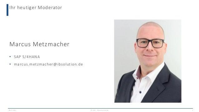 The way to SAP S/4HANA: Mit sauberen Daten durchstarten Slide 2
