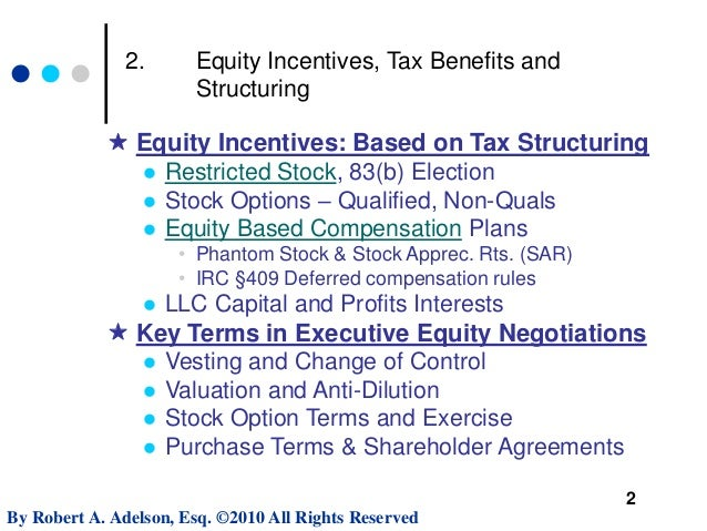 Negotiating Executive Employment Contract Terms MIT Sloan Webinar – Executive Employment Contract