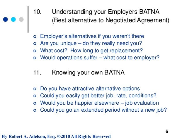 Negotiating Executive Employment Contract Terms  Mit Sloan Webinar
