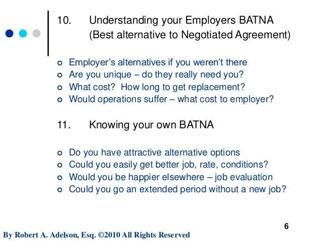 Negotiating Executive Employment Contract Terms  Mit Sloan Webinar