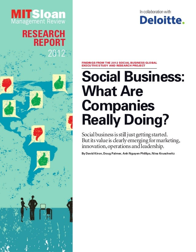 In collaboration withRESEARCH  REPORT     2012            FINDINGS FROM THE 2012 SOCIAL BUSINESS GLOBAL            EXECUTI...
