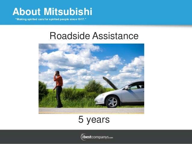 Mitsubishi - Mitsubishi roadside