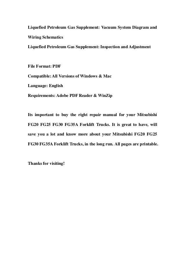 mitsubishi fg20 fg25 fg30 fg35a forklift trucks service repair worksh mitsubishi fg20 fg25 fg30 fg35a forklift trucks service repair workshop manual