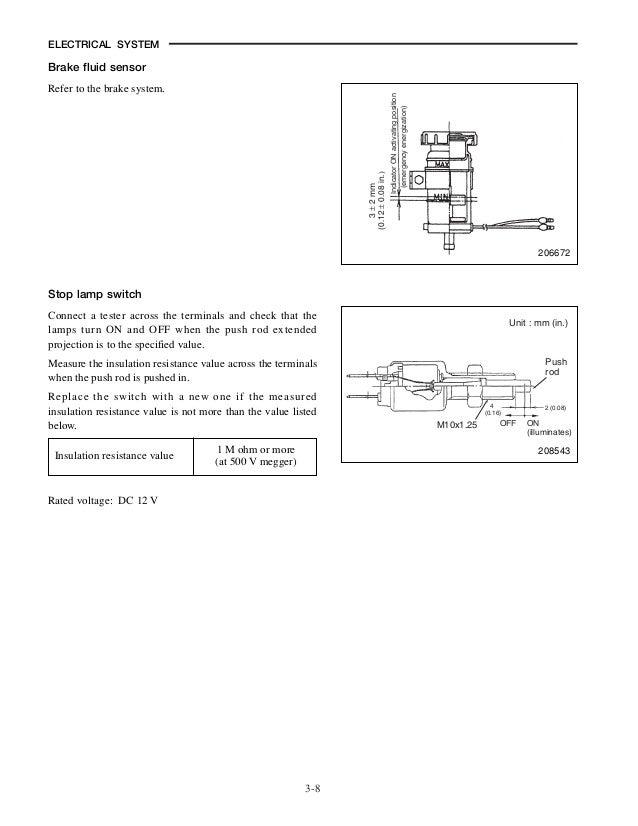mitsubishi fg20 n forklift trucks service repair manual sn ... mitsubishi forklift ignition wiring diagram #8