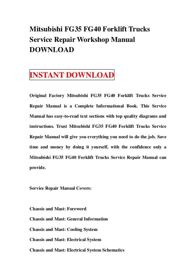 mitsubishi fg35 fg40 forklift trucks service repair workshop manual download 1 638?cb\=1357039111 fg 25 komatsu forklift wiring diagram komatsu fg25t fork lift Komatsu FG25T-14 Product Image at gsmx.co