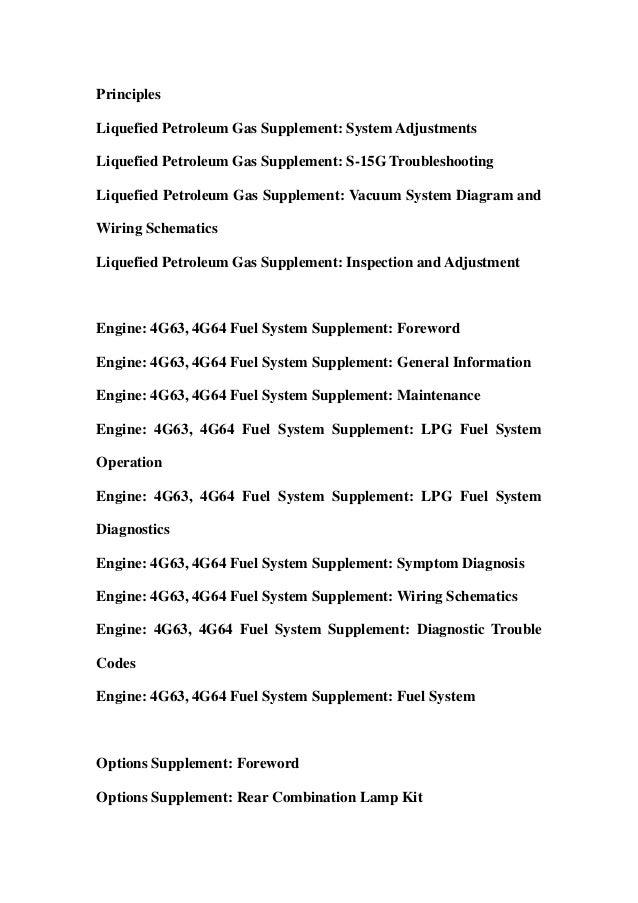 Mitsubishi Fgc K Fgc K Fgc K Fg K Ho Fgc K Fgc K Ho Fgc K Forklift Trucks Service Repair Workshop Manual Download on 4g63 Fuel System Diagram