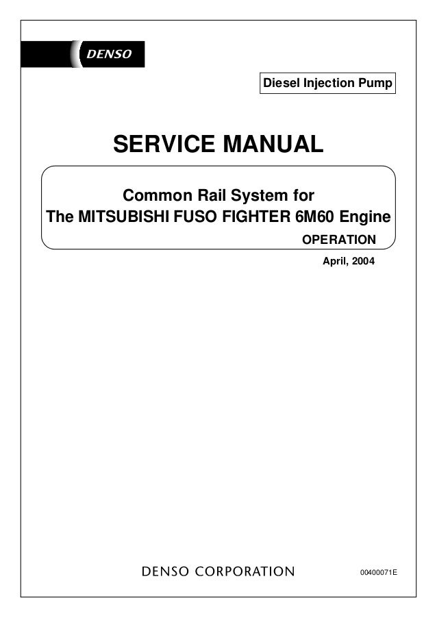 mitsubishi fuso fighter 6 m60 engine rh slideshare net Mitsubishi Montero Engine Manual Mitsubishi Montero Engine Manual
