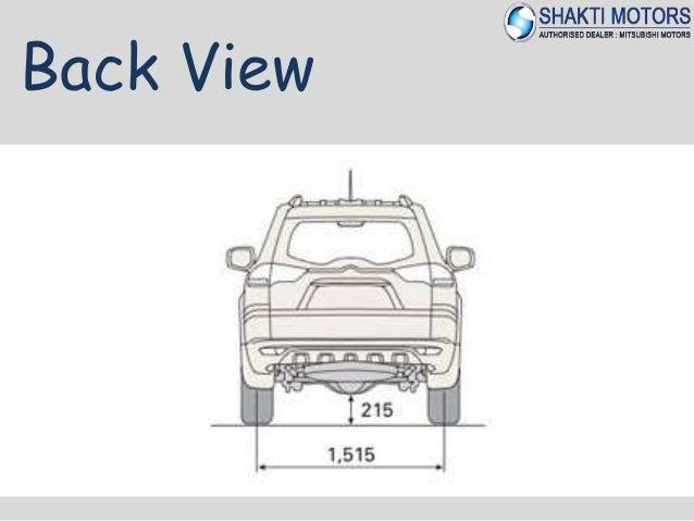 Mitsubishi pajero sport - dimensions and weights