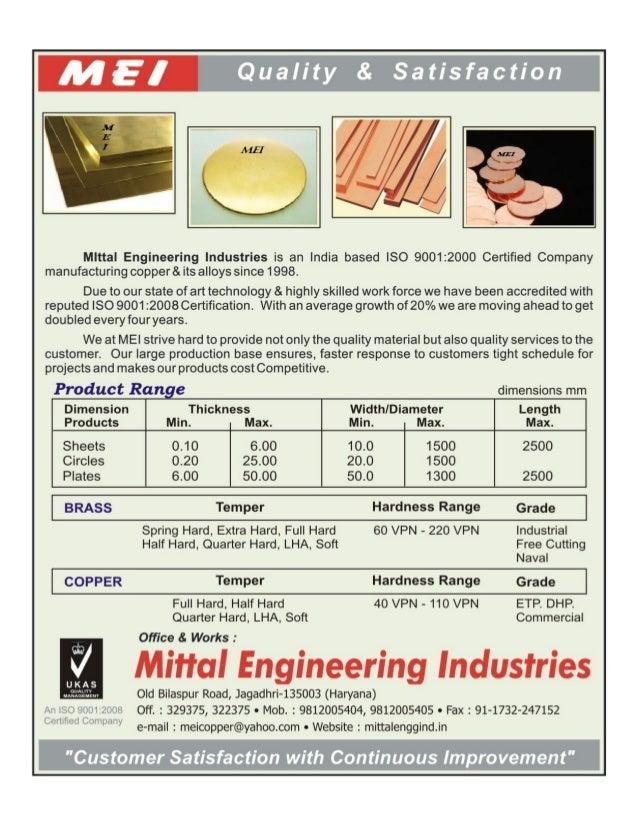 Mittal Engineering Industries, Jagadhri, Metal Coils