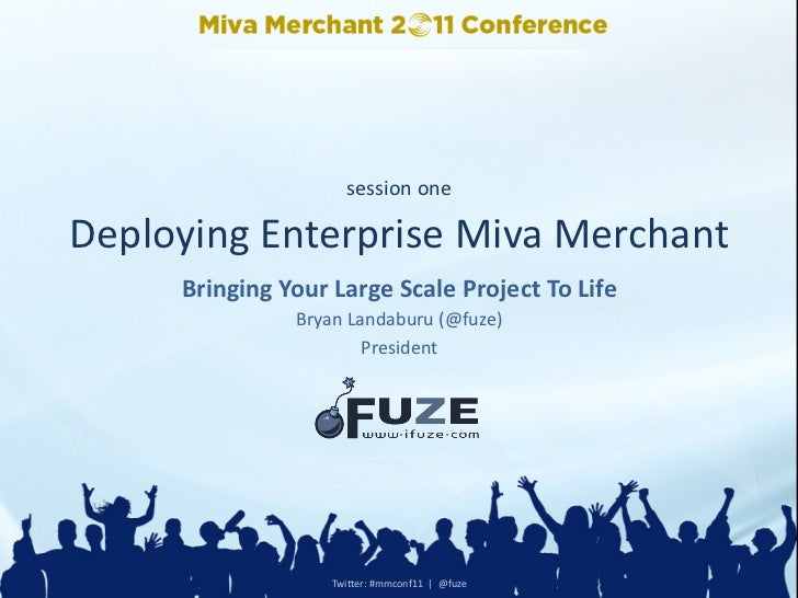 session  oneDeploying  Enterprise  Miva  Merchant                                                                      ...
