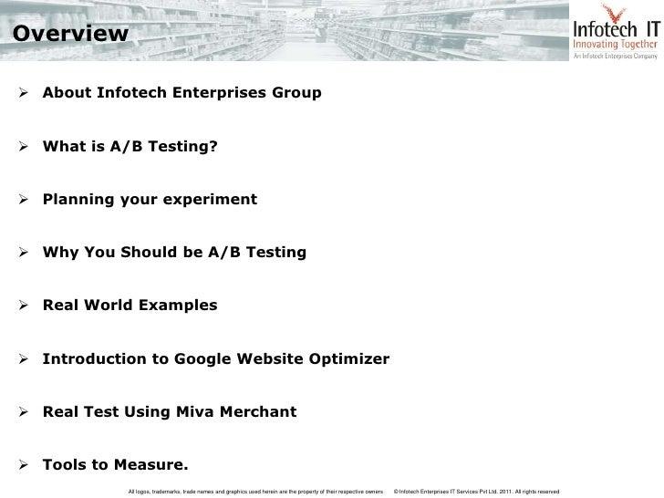 Miva Merchant AB Test Using Google Website Optimizer Slide 2