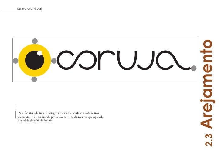 assinatura visual                                                                         ArejamentoPara facilitar a leitu...