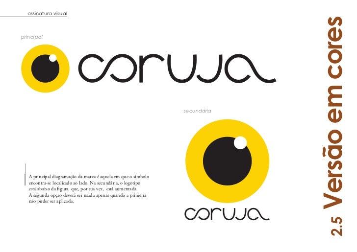 assinatura visual                                                                             Versão em coresprincipal    ...