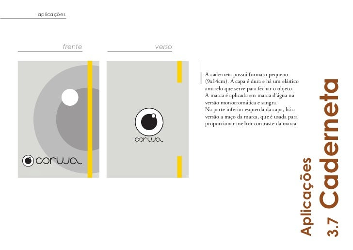 aplicações         frente   verso                          A caderneta possui formato pequeno                             ...