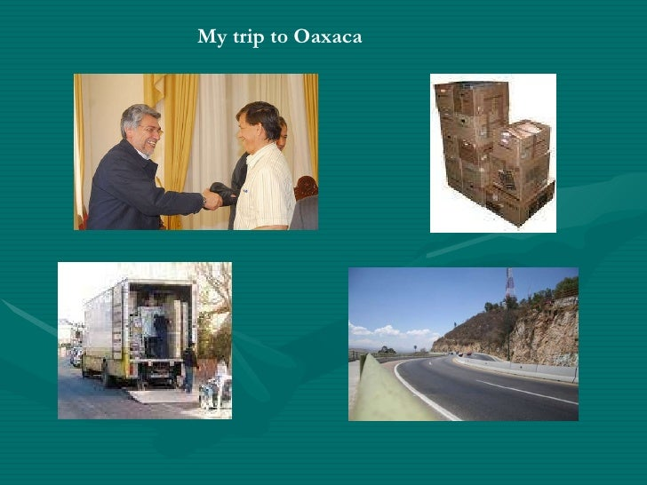 My trip to Oaxaca