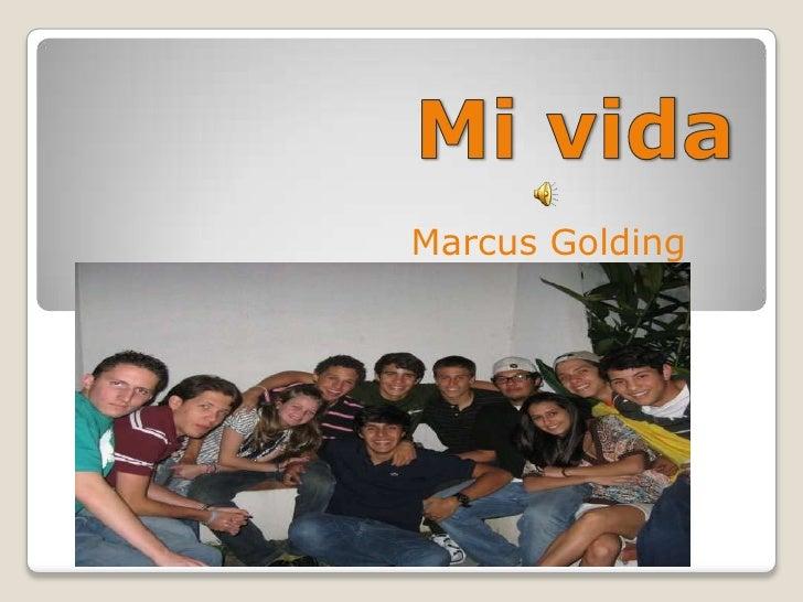 Marcus Golding