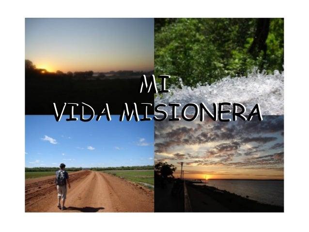 MIVIDA MISIONERA