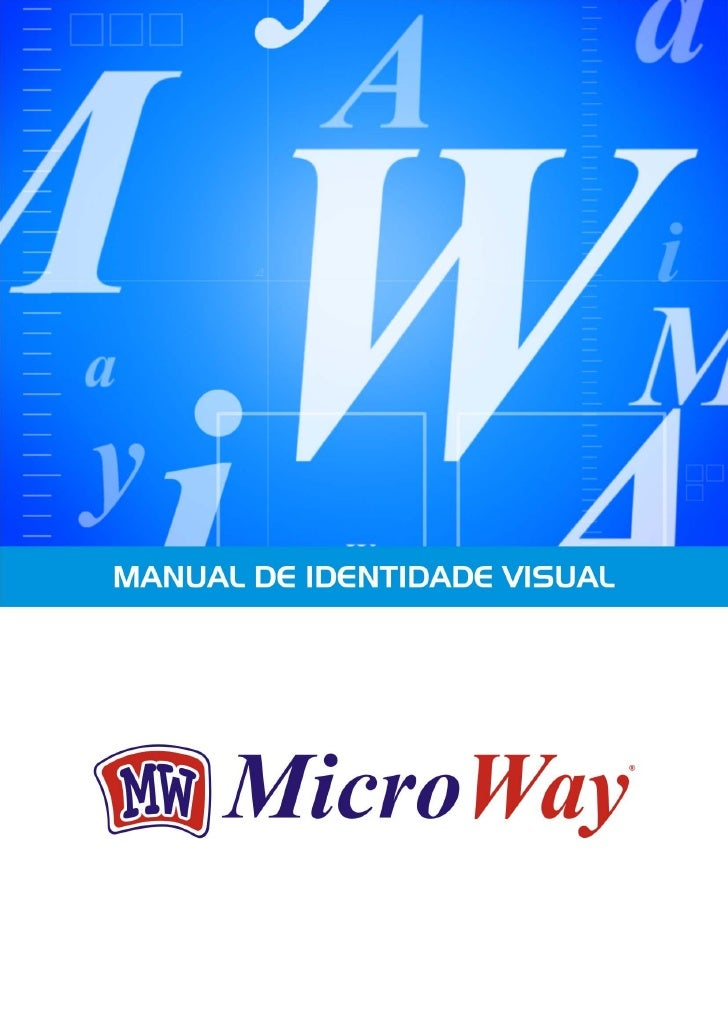Manual de Identidade Visual - MicroWay