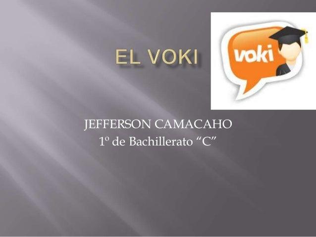 """JEFFERSON CAMACAHO  1º de Bachillerato """"C"""""""
