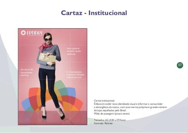 58 Página de Revista - Institucional Página de Revista institucional. Ênfase em exibir nova identidade visual e informar o...