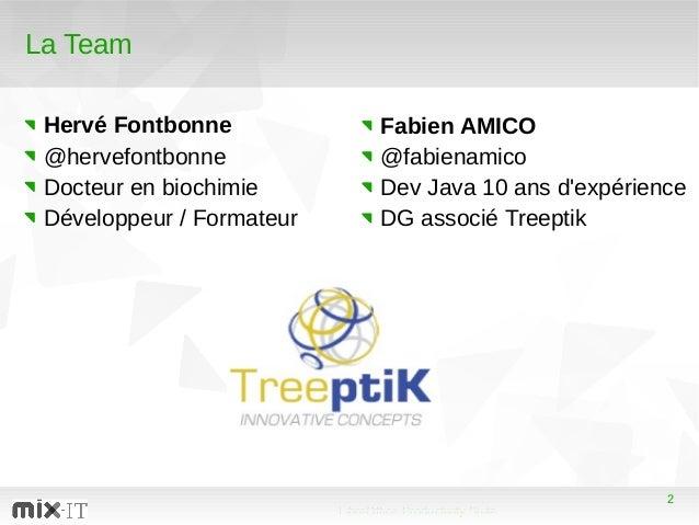 2 LibreOffice Productivity Suite 2 La Team Hervé Fontbonne @hervefontbonne Docteur en biochimie Développeur / Formateur Fa...