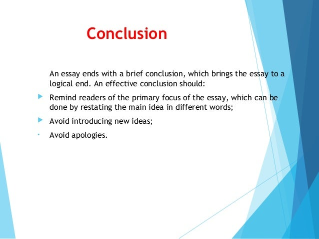 how to conclude a powerpoint presentation