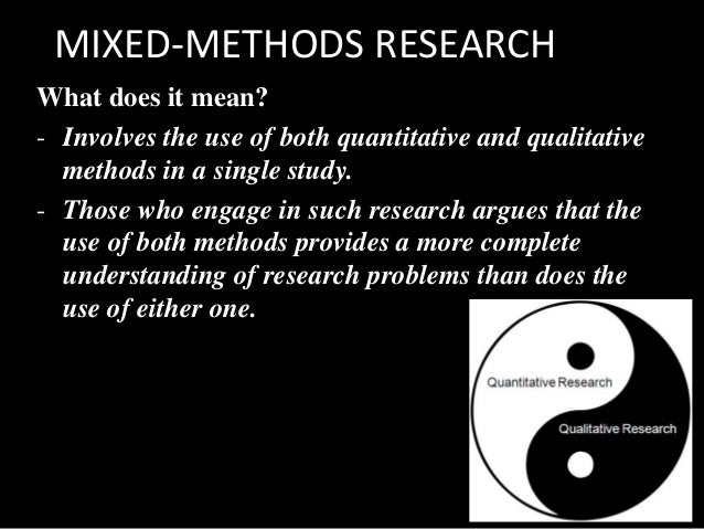 Research Design: Qualitative, Quantitative, and Mixed ...